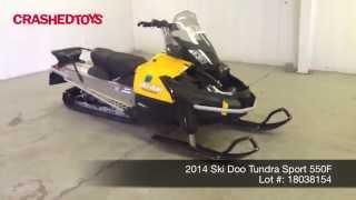 9. 2014 Ski Doo Tundra Sport 550F, Lot 18038154