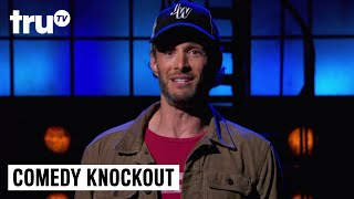 After his fifth loss on Comedy Knockout, it's clear that Josh Wolf is better at getting knocked out than comedy. SUBSCRIBE to get the latest truTV content: http://bit.ly/truTVSubscribeCheck out videos from Impractical Jokers: http://bit.ly/IJTruTVCheck out videos from Billy On The Street: http://bit.ly/BillyOnTheStreetCheck out videos from Adam Ruins Everything: http://bit.ly/ARETruTVCheck out videos from The Carbonaro Effect: http://bit.ly/TheCarbonaroEffectCheck out videos from Comedy Knockout: http://bit.ly/ComedyKnockoutCheck out videos from Hack My Life: Inside Hacks: http://bit.ly/HackMyLifeCheck out videos from Talk Show The Game Show: http://bit.ly/TalkShowTheGameShowCheck out videos from Upscale with Prentice Penny: http://bit.ly/UpscaleWithPrenticePennyAbout Comedy Knockout:Comedy Knockout pits comedians against each other in a series of fast-paced challenges. In each episode, host Damien Lemon (Guy Code) sends three comics into a battle of high stakes comedic gameplay. The comedians throw roast-like, rapid-fire jabs at their opponents, and each show ends with one comedian crowned champion, one eliminated, and one forced to face the crowd to apologize for going down in shameful defeat.Guest comedians this season will include Kyle Kinane, Gina Yashere, Arden Myrin, Josh Wolf, Joel Kim Booster, and Tone Bell.truTV Official Site: http://www.trutv.com/Like truTV on Facebook:  https://www.facebook.com/truTVFollow truTV on Twitter: https://twitter.com/truTVFollow truTV on Tumblr: http://trutv.tumblr.com/Get the truTV app on Google Play: http://bit.ly/1eYxjPPGet the truTV app on iTunes: http://apple.co/1JiGkjhWay more truTV!  Watch clips, sneak peeks and exclusives from original shows like Comedy Knockout, Those Who Can't and more – plus fresh video from hit shows like Impractical Jokers and The Carbonaro Effect.Comedy Knockout - Apology: Josh Wolf  truTVhttp://bit.ly/truTVSubscribe
