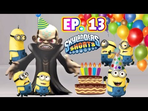 Kaos' Despicable Birthday Party (Ep. 13 - Skylanders Shorts - The Minion Planners)