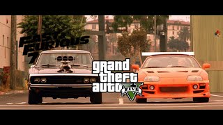 Nonton Gta 5   Fast And Furious 7 Dom S 1970 Charger Car Build   Vin Diesel S Car   Gta V Gameplay  Film Subtitle Indonesia Streaming Movie Download