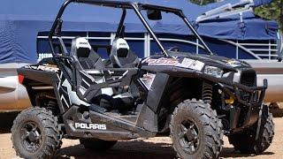 10. 2017 Polaris RZR 900 Trail on tight ATV trails