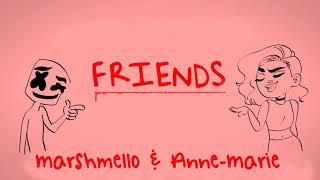 Video Marshmello & Anne-Marie - FRIENDS (Instrumental) MP3, 3GP, MP4, WEBM, AVI, FLV Agustus 2018