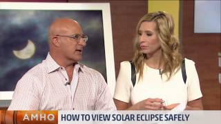 It's dangerous to look at a solar eclipse & it's true for the entire event. Dr. Paul Sutter has ways to safely view the eclipse.
