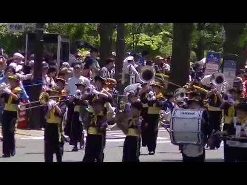 瀬戸ヶ谷小学校マーチングバンド YOKOHAMA BAYSIDE KIDS(第63回ザよこはまパレード:キッズパレード)