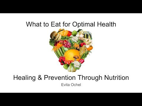 Healing & Prevention Through Nutrition: What to Eat for Optimal Health with Evita Ochel