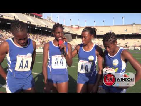 Hydel wins 4x400m for first title at Penn Relays (видео)