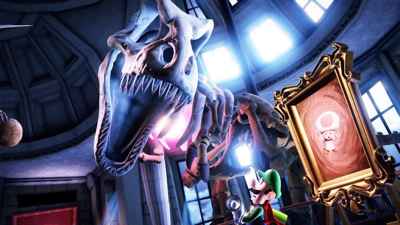 LUIGI'S NIGHT AT THE MUSEUM... || Luigi's Mansion 3 Part 7