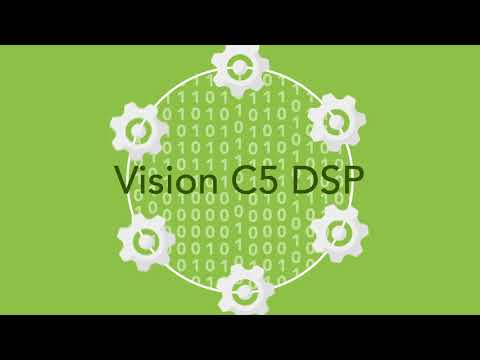 Accelerate Embedded Neural Network Deployment and Performance with the Tensilica® Vision C5 DSP