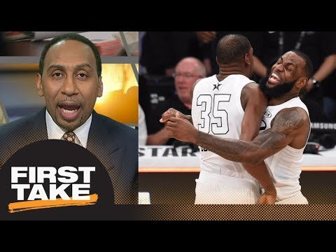 Stephen A. Smith on the 2018 NBA All-Star Game: I give it an A | First Take | ESPN