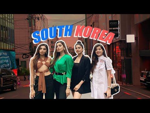 SEOUL, SOUTH KOREA!   VLOG Part 1   Malvika Sitlani