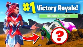 WHATS UNDER The TRUCK In Dusty Divot? Fortnite Battle Royale