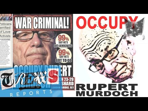 rupert murodch - Occupy Rupert Murdoch & the media billionaires - Russell Brand Trews Reports (E13) John Rogers talks to Donnachadh McCarthy from Occupy the Media Billionaire...