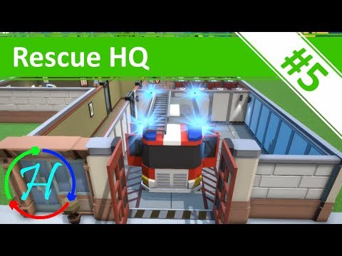 New day, new station, and The Mayor has a voice! - Ep.5 - Rescue HQ