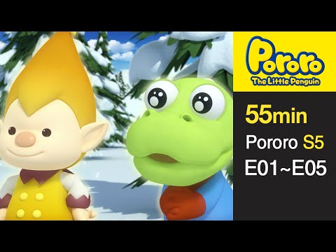[Pororo S5] Season 5 Full Episodes E1-E5 (1/5)