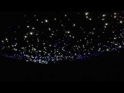 Glasfaser Sternenhimmel Mit Sternschnuppe Ares73 Video Mp3