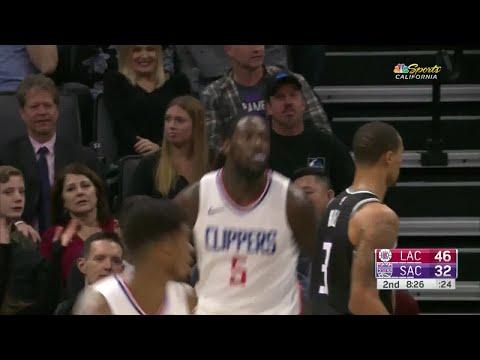 2nd Quarter, One Box Video: Sacramento Kings vs. Los Angeles Clippers