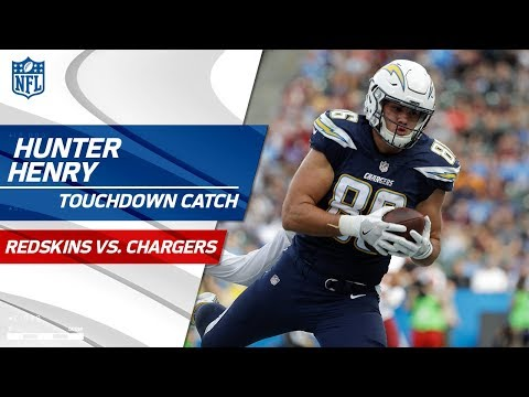 Video: Philip Rivers Finds Hunter Henry Hauls for TD to Extend LA Lead! | Redskins vs. Chargers | NFL Wk 14