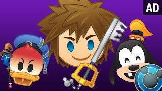 A Look at KINGDOM HEARTS III | As Told By Emoji by Disney