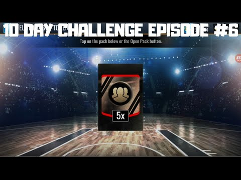 10 DAY CHALLENGE EPISODE #6 IN NBA LIVE MOBILE 19!!!