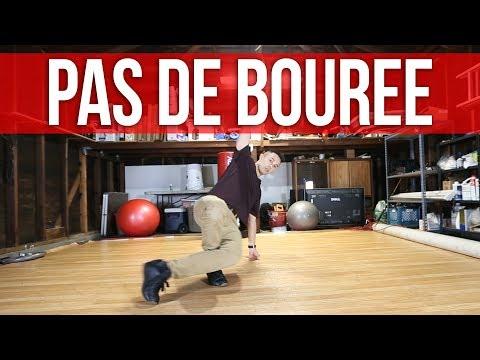 How To Breakdance | Pas De Bouree Footwork Step | Footwork 101