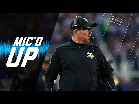 Video: Mike Zimmer Mic'd Up Against Good Friend Marvin Lewis | NFL Sound FX
