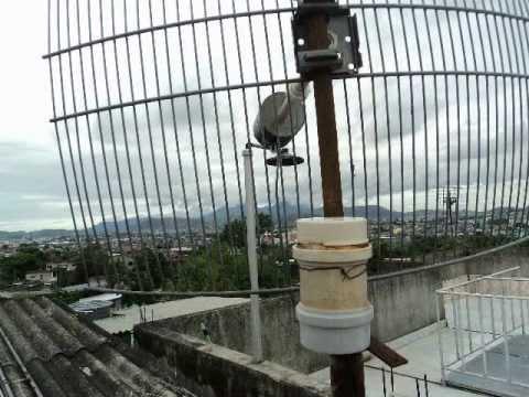 Internet de graça com antena de lata - 3. continuação - Fim