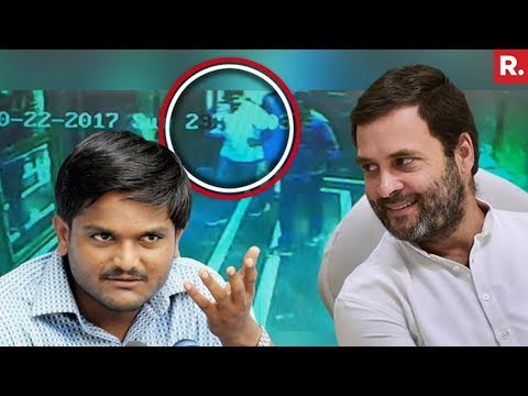 Secret Rahul Gandhi-Hardik Patel Meet - Caught On Camera - Exclusive