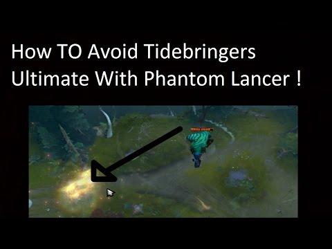 How To Use Phantom Lancer To Dodge Stuns/Ultimates | Dota 2