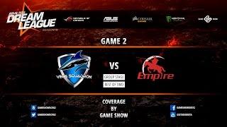 Alliance vs Empire, game 2