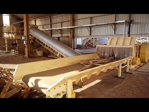 Picador de madeira usado na reciclagem de paletes - PTL 250 400 x 1300