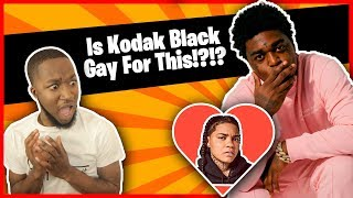 Is Kodak Black Gay!?!? | Kodak Black - Pimpin Ain't Eazy [Official Music Video] (Reaction)