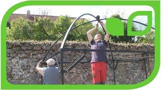 Ippenburger Gartentipps: Wie wird ein Harrod Fruitcage aufgebaut? (Teil 4)
