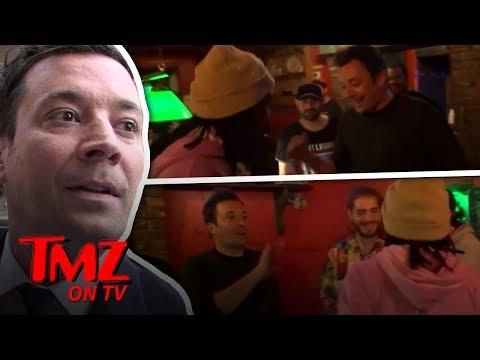 Jimmy Fallon's Epic Rap Battle With Post Malone & Friends | TMZ TV