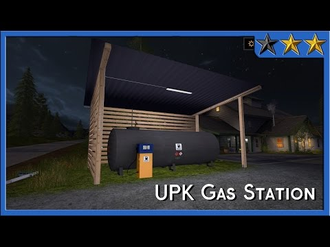 UPK gas station (Fillable) v1.0