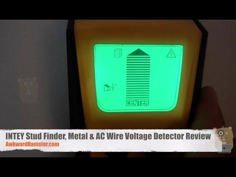 INTEY Stud Finder, Metal & AC Wire Voltage Detector Review