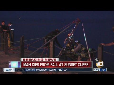 Man dies in Sunset Cliffs fall