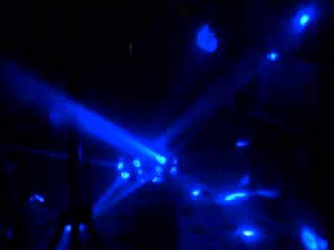 Đèn led trang trí Ốc đảo quay liên tục