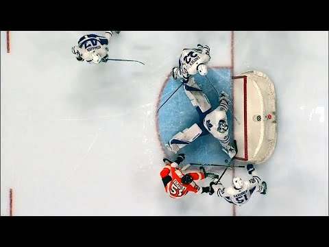 Video: Frederik Andersen denies Valtteri Filppula on goal line