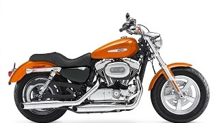 7. 2015 Harley-Davidson Sportster 1200 Custom, this middleweight cruiser line-up for the next season
