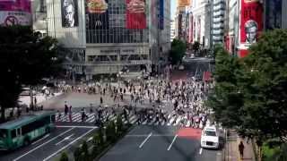 Shinjuku Station Timelapse
