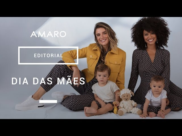 #mãeAMARO | Rafa Brites e Sheron Menezzes - Amaro
