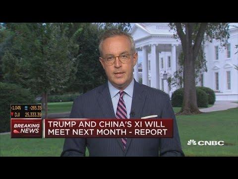 Trump and Chnia's Xi will meet next month: Washington Post