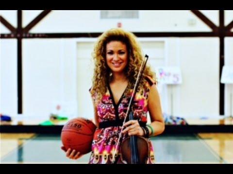 Miri performs at the NBA All Star Games