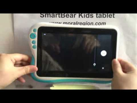 User settings   SmartBear Kids tablet