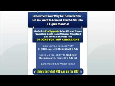 Social Ad Maker Pro Version Review | BECOME FB Marketer the PROS with Social Ad Maker Pro Version