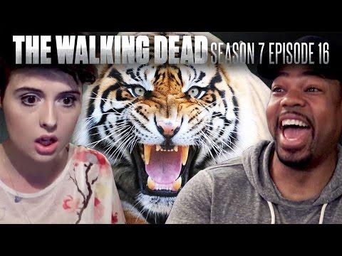 The Walking Dead: Season 7 Finale Fan Reaction Compilation!