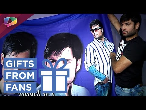 Vivian Dsena Receives Gifts From His Fans |