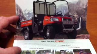 7. Kubota RTVXT new and improved?