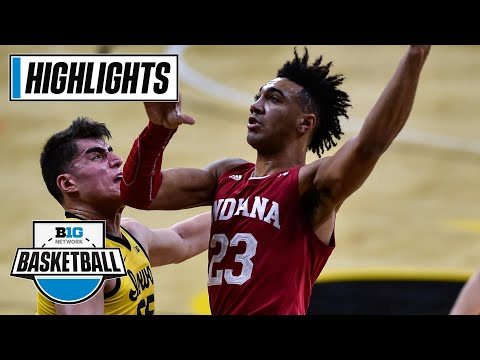 Indiana at Iowa | Can The Hoosiers Pull Off an Upset? | Jan. 21, 2021 | Highlights