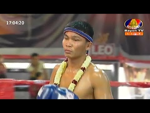 Ny Sophy vs Arundeth(thai), Khmer Boxing Bayon 18 Feb 2018, Kun Khmer vs Muay Thai